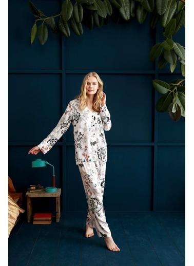 Penye Mood 8921 Pijama Takım Pembe